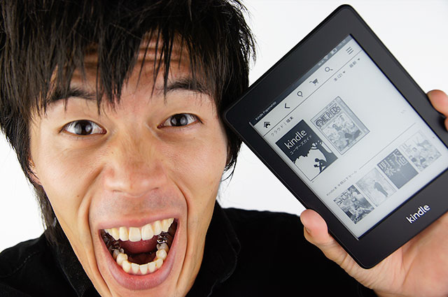 Kindleがキター!Kindle Parparwhite 3G開封レビュー
