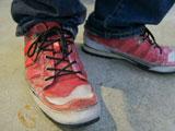 フーピー(whoop'EE')の靴の色落ち感が最高!!