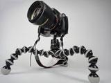 ゴリラポッド(SLR-ZOOM)で一眼レフカメラを取付けてみた
