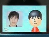 3DSのMiiスタジオで写真からMiiを作ってみた