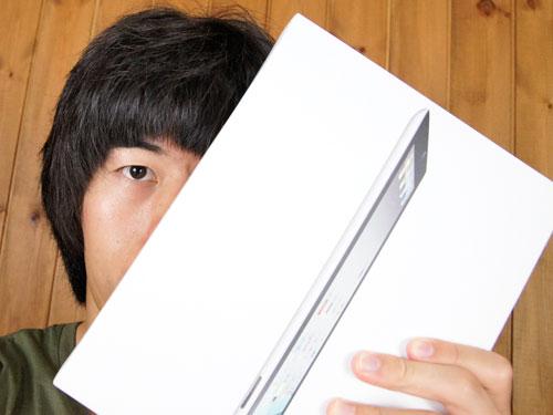 iPad2 Simフリーバージョンの開封レビュー