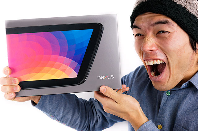 Nexus10がキター!iPadのRetinaを越えるのか!?速攻レビューしてみました