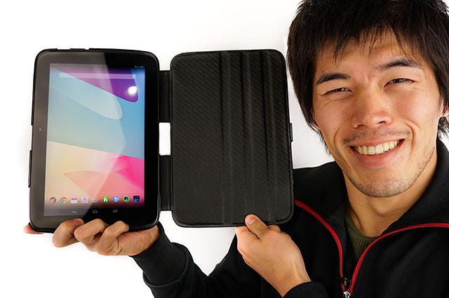 フランスから来た!Nexus10専用本皮ケース(noreve)