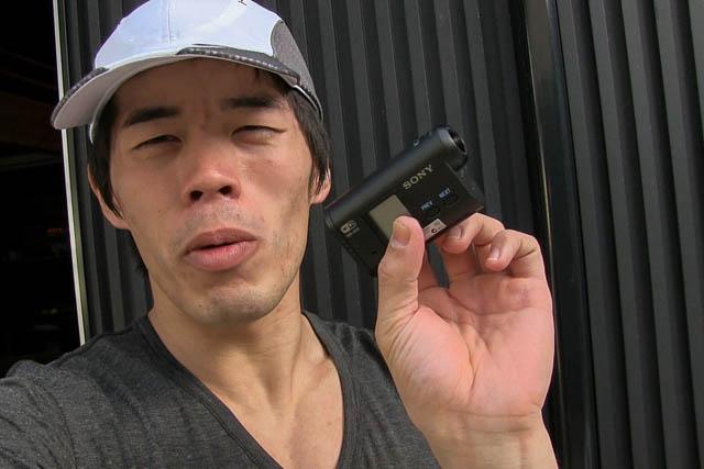 ランニング用カメラ検証中「HDR-AS15」は意外に使えるぞ!