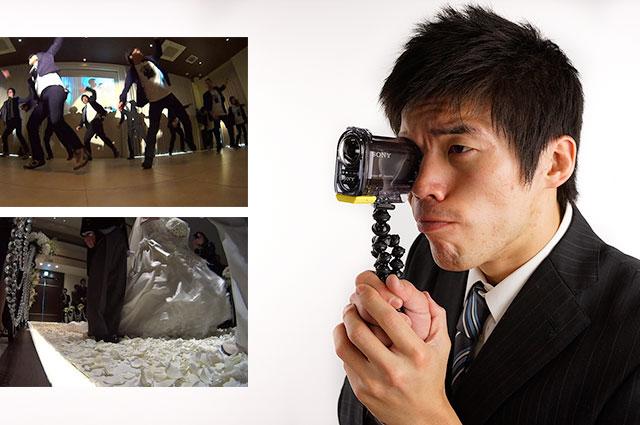 結婚式での撮影術!超広角カメラ「HDR-AS15」の映像が意外によかった件