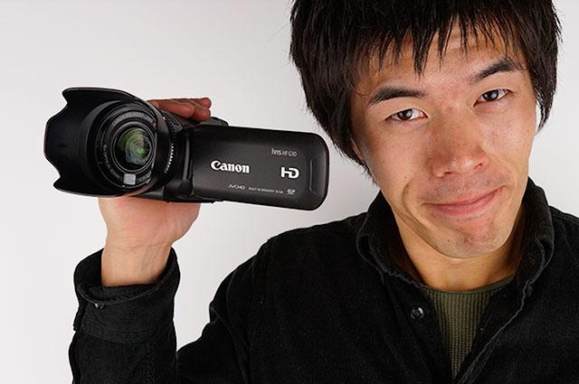 キャノンのビデオカメラ「iVIS HF G10」がキター!動画撮影には最強だな