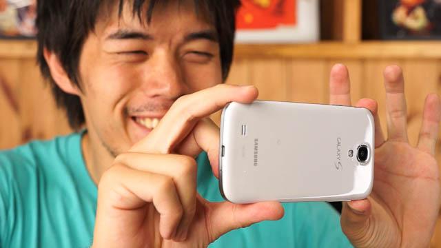 GALAXY S4の6つのカメラ機能&画質チェック!