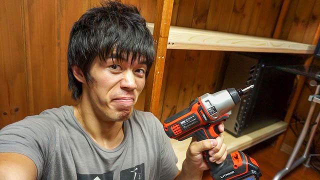 適当DIY!切ってくっつけるだけの手抜き棚作り