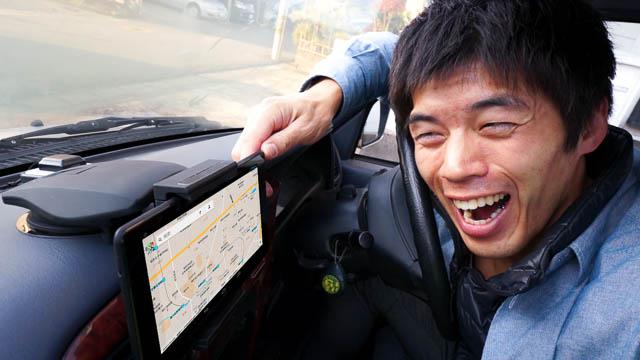 2400円で購入できるタブレット車載ホルダー!Nexus7、iPad mini設置可能