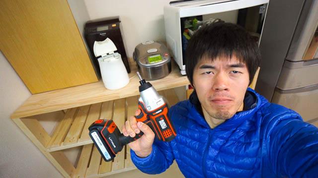 男のDIY!旧キッチン家具を利用してのキッチン家具作りチャレンジ
