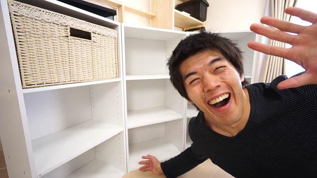 1000円で購入できるニトリの棚を3つ大人買いしてきた!
